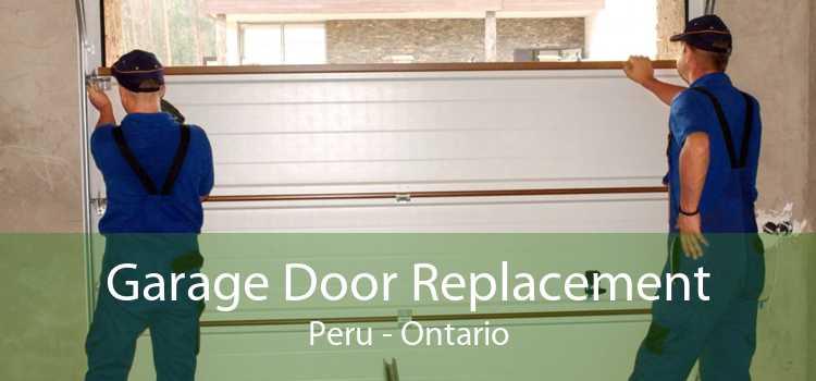 Garage Door Replacement Peru - Ontario