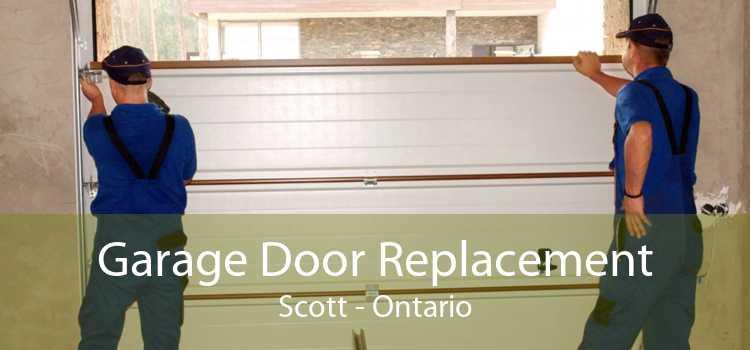Garage Door Replacement Scott - Ontario