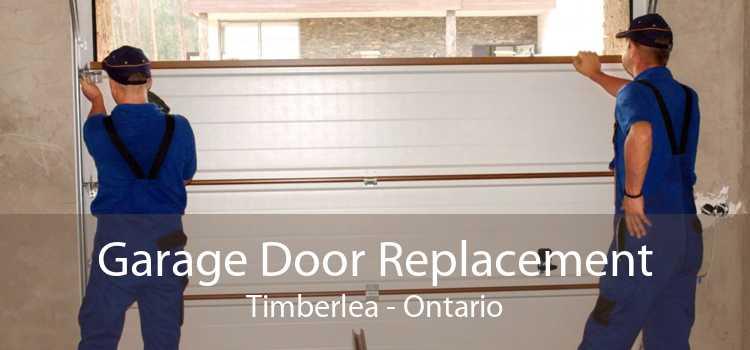 Garage Door Replacement Timberlea - Ontario