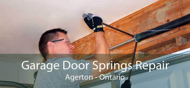 Garage Door Springs Repair Agerton - Ontario