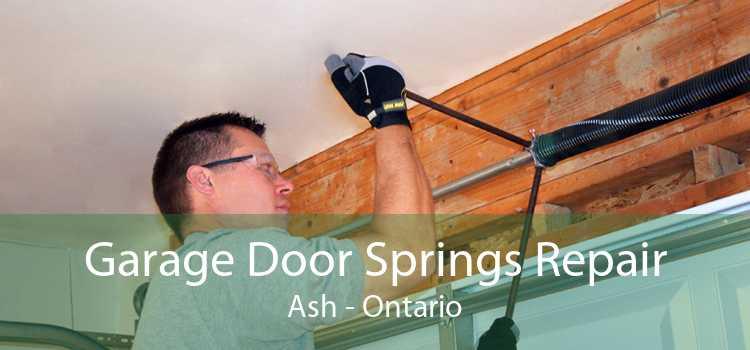 Garage Door Springs Repair Ash - Ontario
