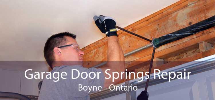 Garage Door Springs Repair Boyne - Ontario