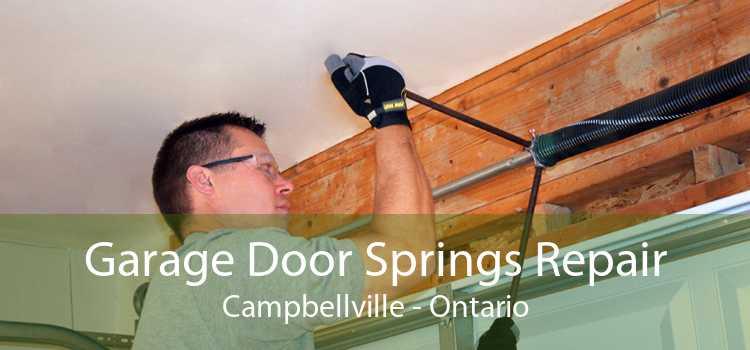 Garage Door Springs Repair Campbellville - Ontario