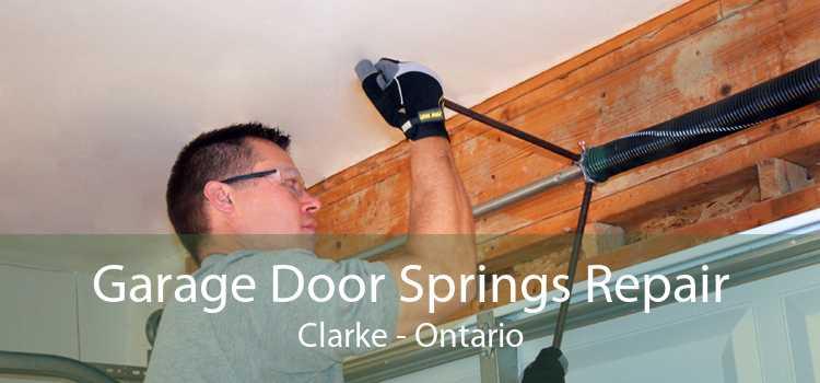 Garage Door Springs Repair Clarke - Ontario