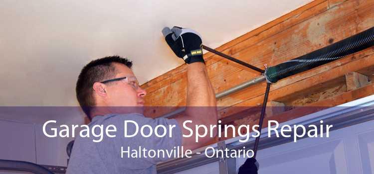 Garage Door Springs Repair Haltonville - Ontario