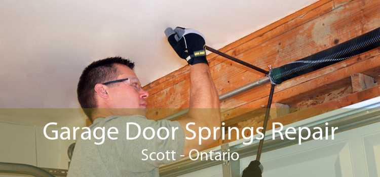 Garage Door Springs Repair Scott - Ontario