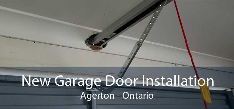 New Garage Door Installation Agerton - Ontario