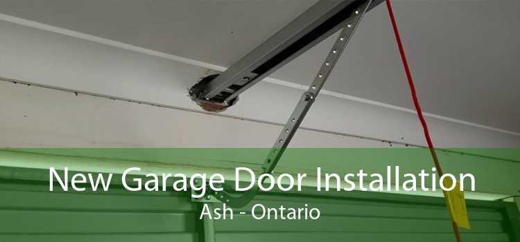 New Garage Door Installation Ash - Ontario