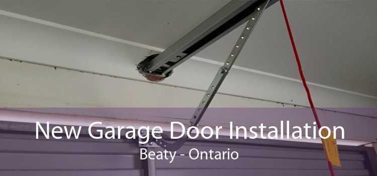 New Garage Door Installation Beaty - Ontario