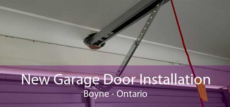 New Garage Door Installation Boyne - Ontario
