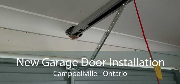 New Garage Door Installation Campbellville - Ontario