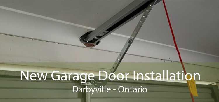 New Garage Door Installation Darbyville - Ontario