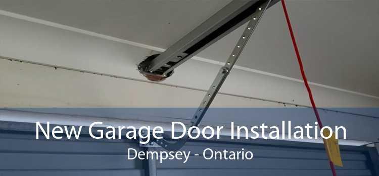 New Garage Door Installation Dempsey - Ontario