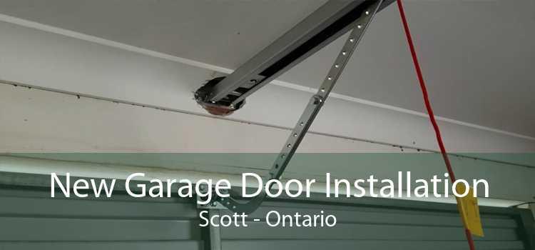 New Garage Door Installation Scott - Ontario