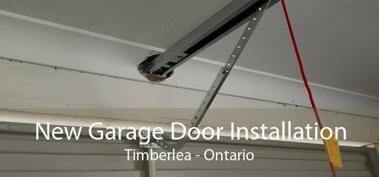 New Garage Door Installation Timberlea - Ontario