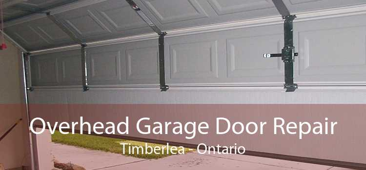 Overhead Garage Door Repair Timberlea - Ontario