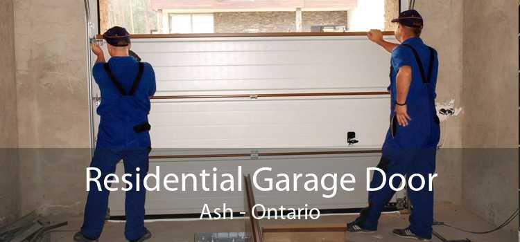 Residential Garage Door Ash - Ontario