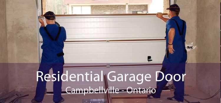 Residential Garage Door Campbellville - Ontario