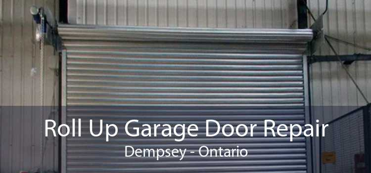 Roll Up Garage Door Repair Dempsey - Ontario