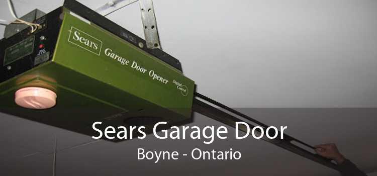 Sears Garage Door Boyne - Ontario