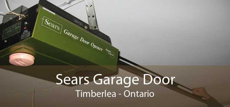 Sears Garage Door Timberlea - Ontario