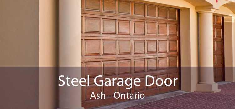 Steel Garage Door Ash - Ontario