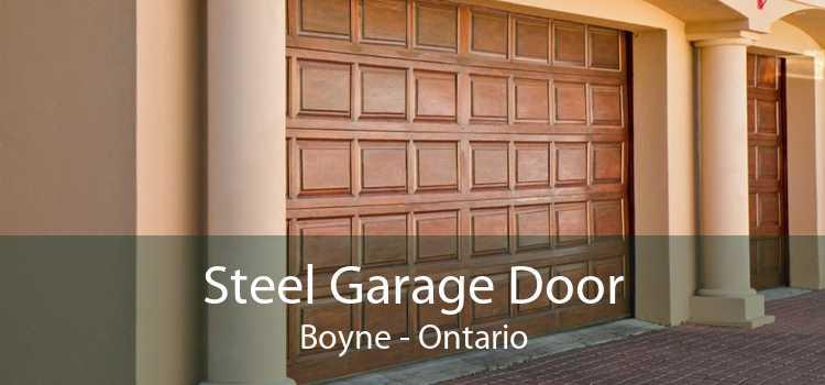 Steel Garage Door Boyne - Ontario
