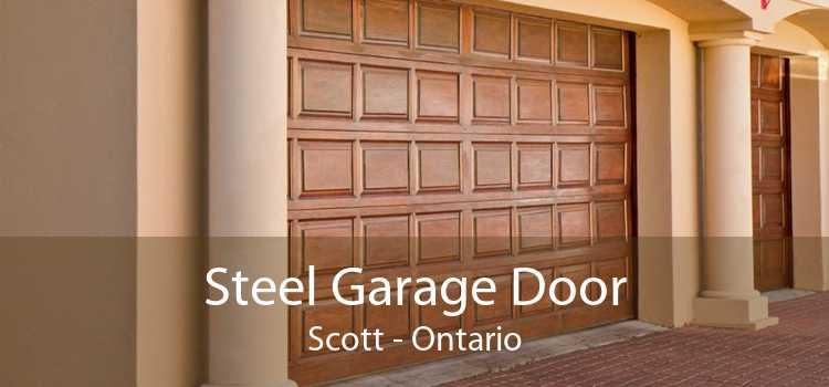 Steel Garage Door Scott - Ontario