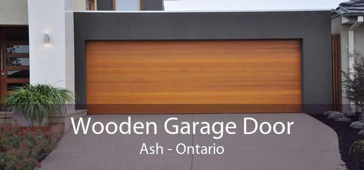 Wooden Garage Door Ash - Ontario