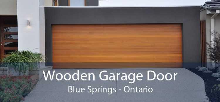 Wooden Garage Door Blue Springs - Ontario
