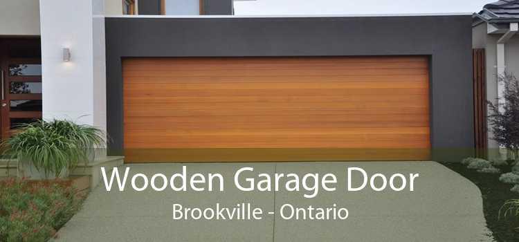 Wooden Garage Door Brookville - Ontario