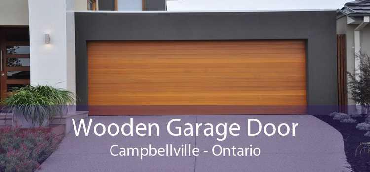 Wooden Garage Door Campbellville - Ontario