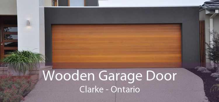 Wooden Garage Door Clarke - Ontario