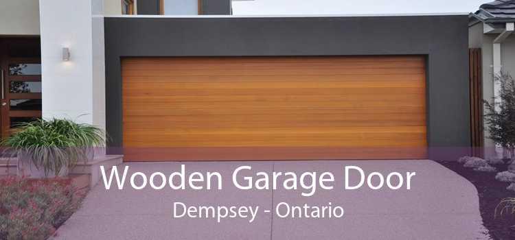 Wooden Garage Door Dempsey - Ontario