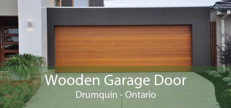 Wooden Garage Door Drumquin - Ontario