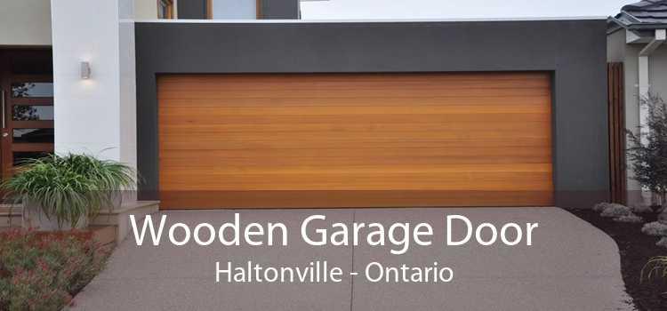 Wooden Garage Door Haltonville - Ontario