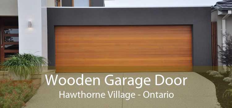 Wooden Garage Door Hawthorne Village - Ontario