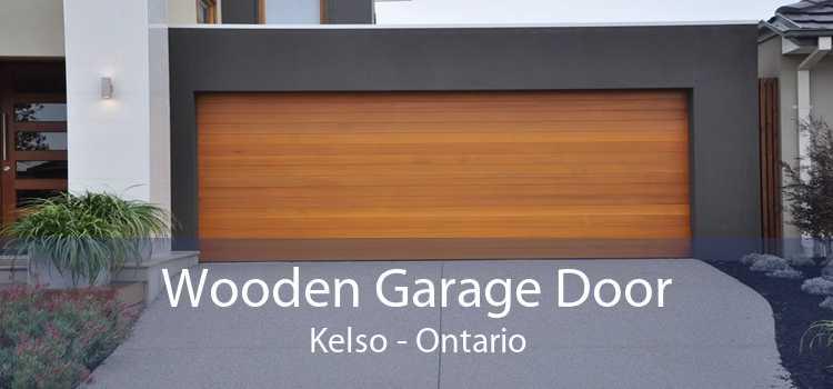 Wooden Garage Door Kelso - Ontario