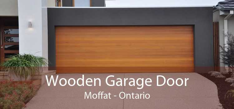 Wooden Garage Door Moffat - Ontario